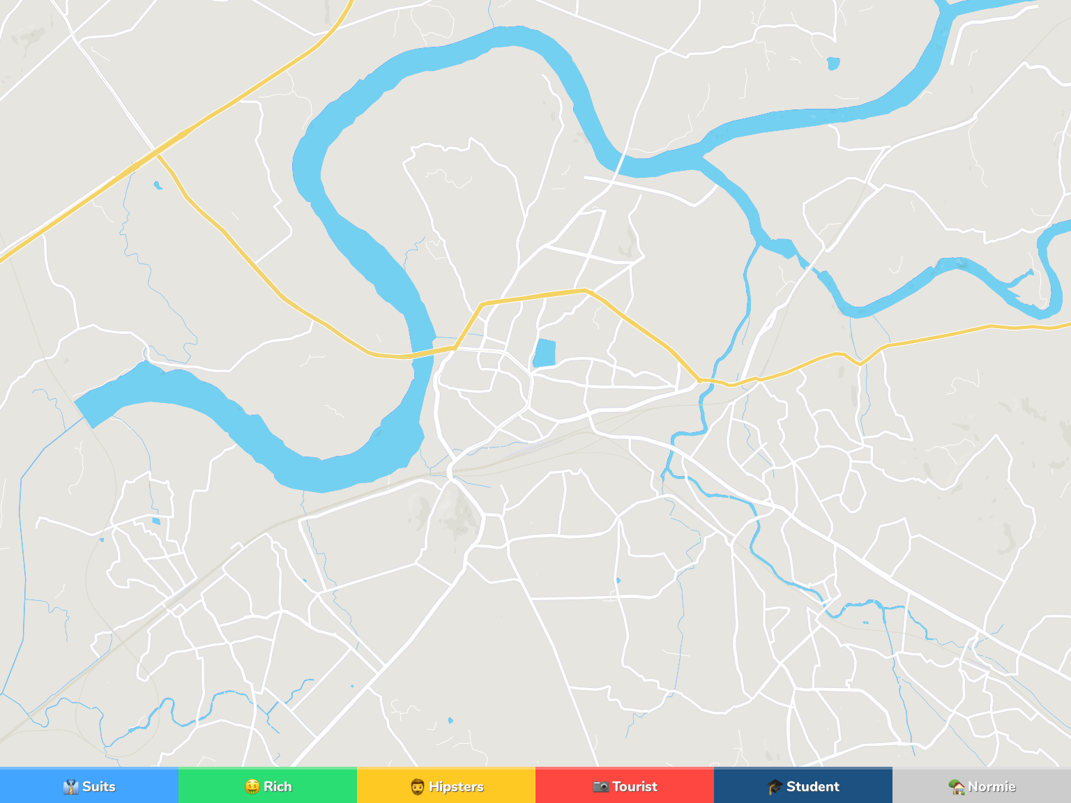 Kalyan Neighborhood Map