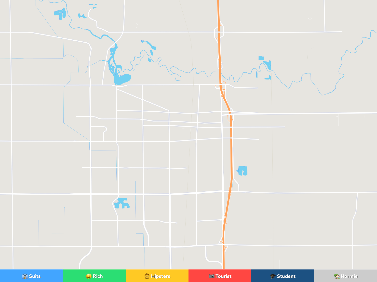 Lodi Neighborhood Map
