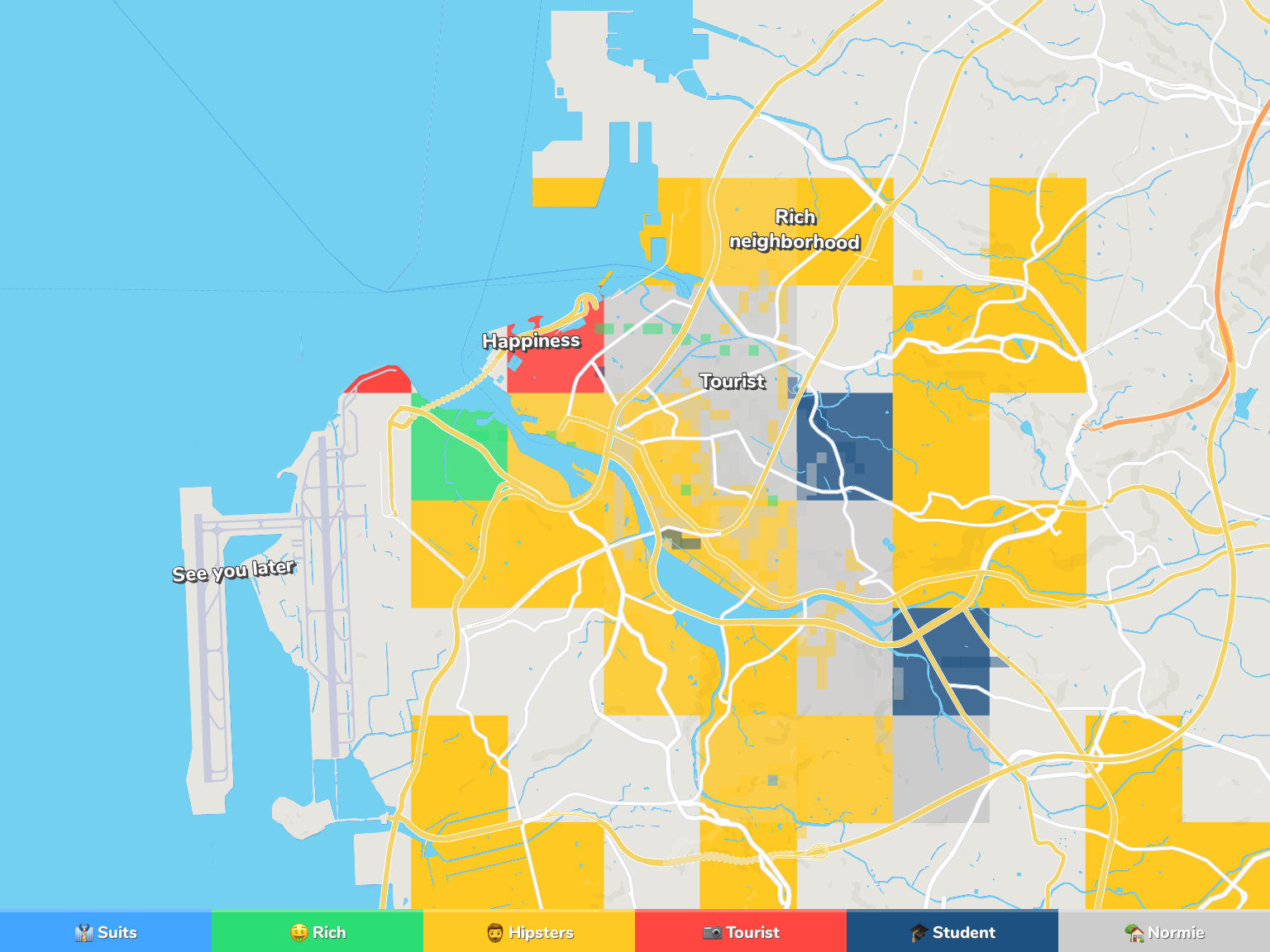 Naha Neighborhood Map