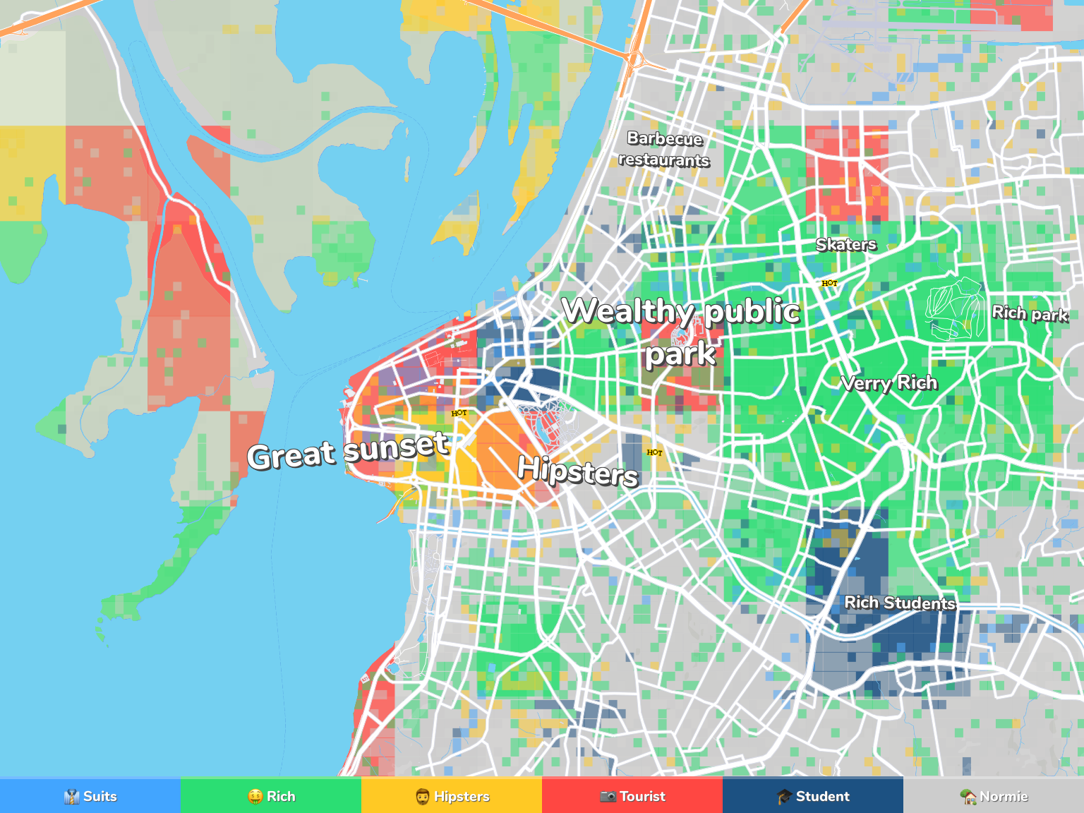Porto Alegre Neighborhood Map