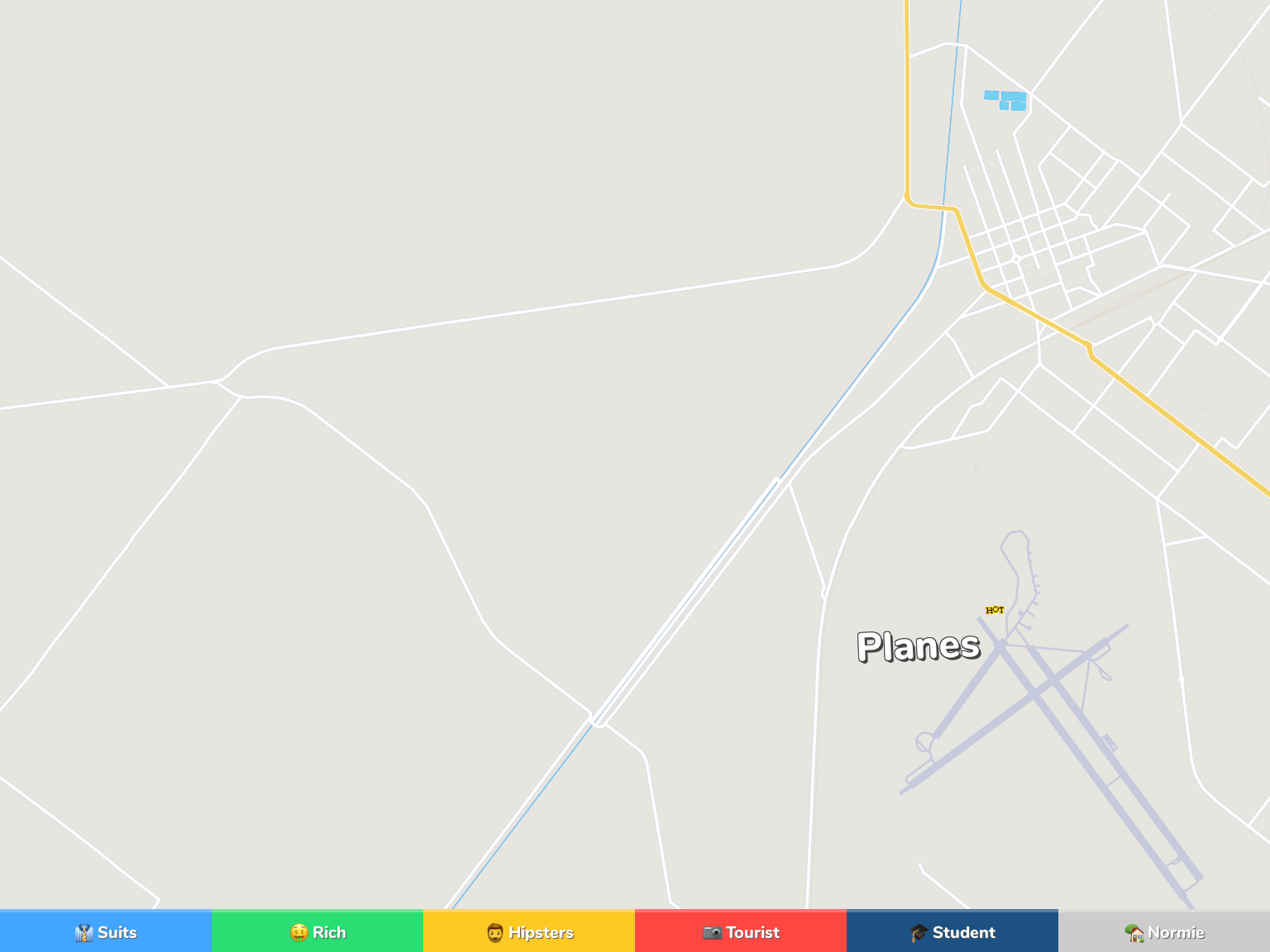 Sargodha Neighborhood Map