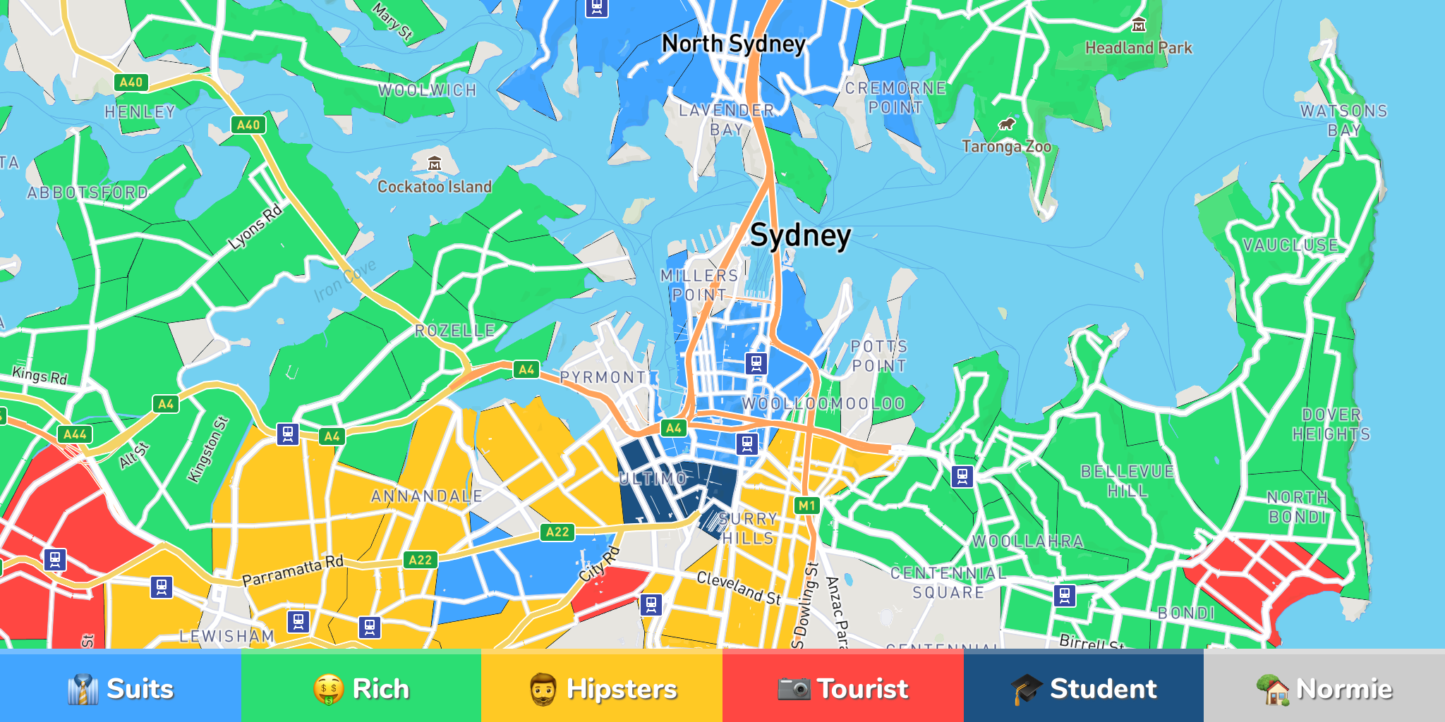 Where to Stay in Sydney - Neighborhoods & Area Guide by 451