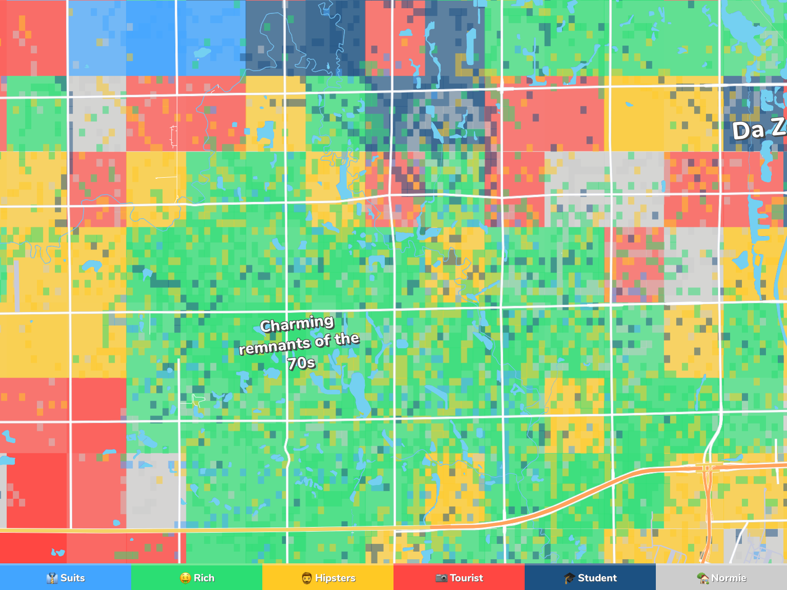 Wichita Neighborhood Map